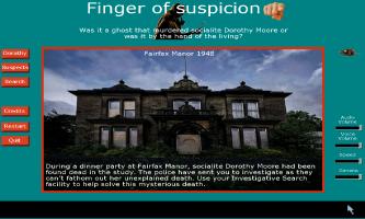 Screenshot 1 of Finger of suspicion