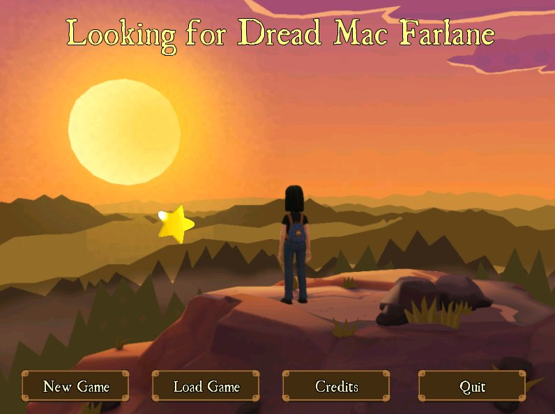 Screenshot of Looking for Dread Mac Farlane