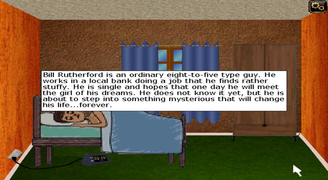 Zoomed screenshot of Groundhog