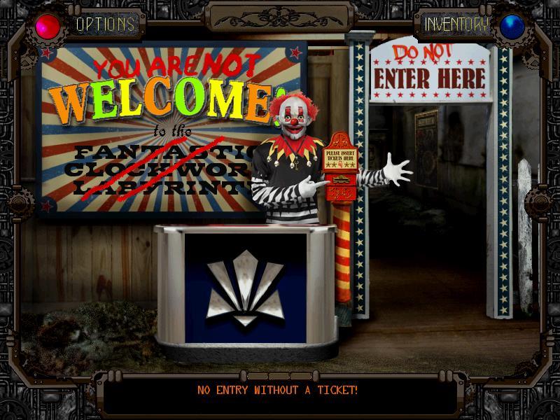 Screenshot of The Clockwork Labyrinth