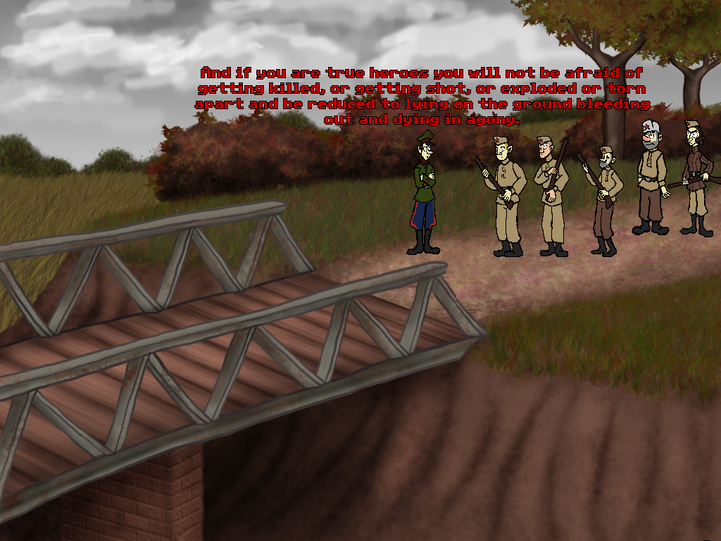 Screenshot of Commissar's Contrapasso
