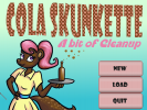 Screenshot 1 of Cola Skunkette: A Bit of Cleanup