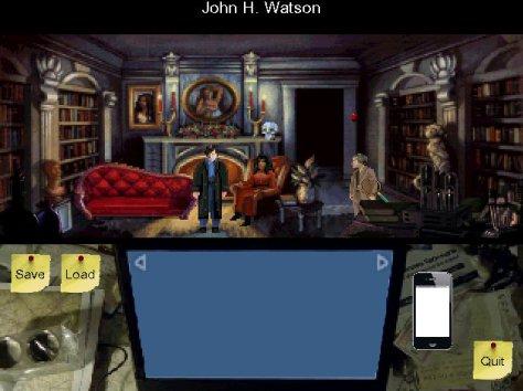 Screenshot of Sherlock - The Dark Arts