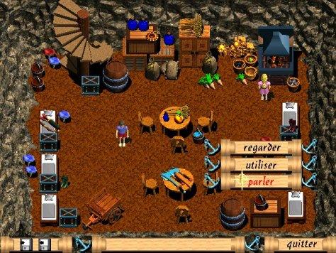 Screenshot of James in Neverland