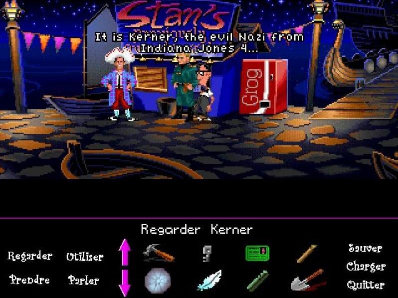 Zoomed screenshot of LucasManiac
