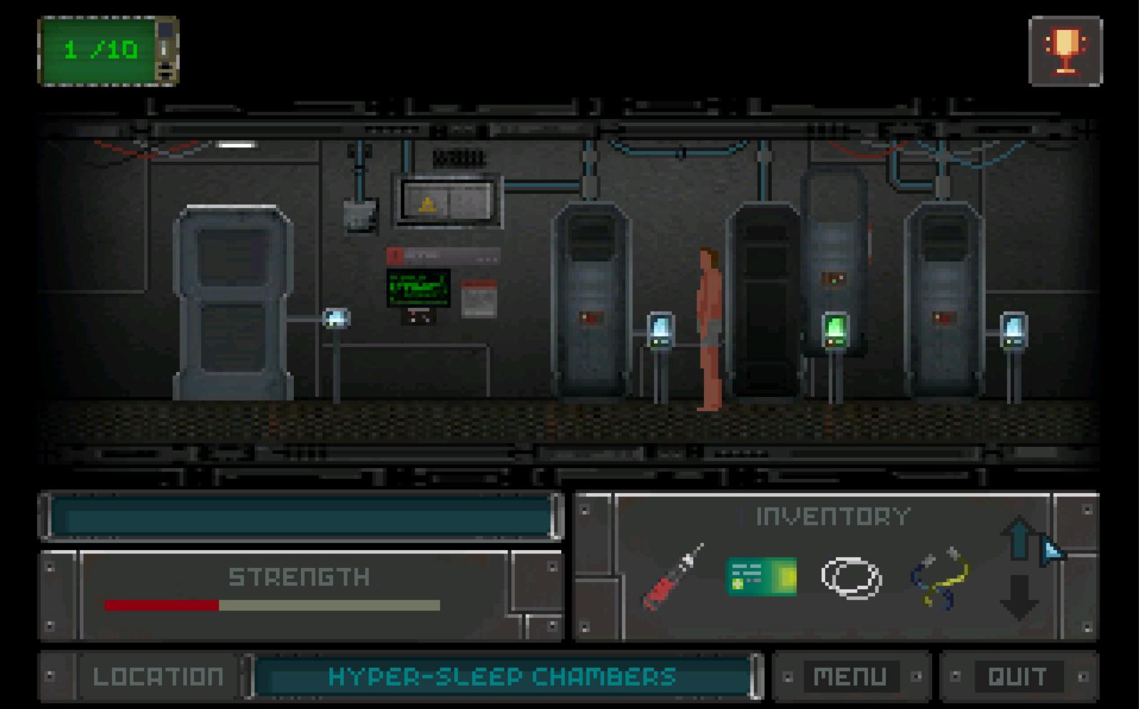 Screenshot of Subterra (DEMO)