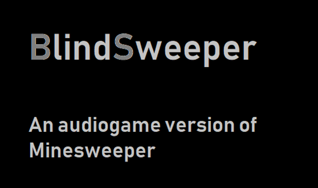Zoomed screenshot of BlindSweeper