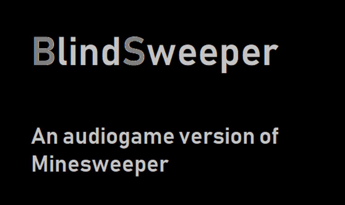 Screenshot of BlindSweeper