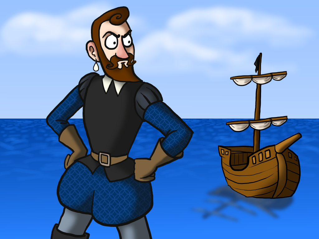 Screenshot of Captain Downes and the Pirate Princess