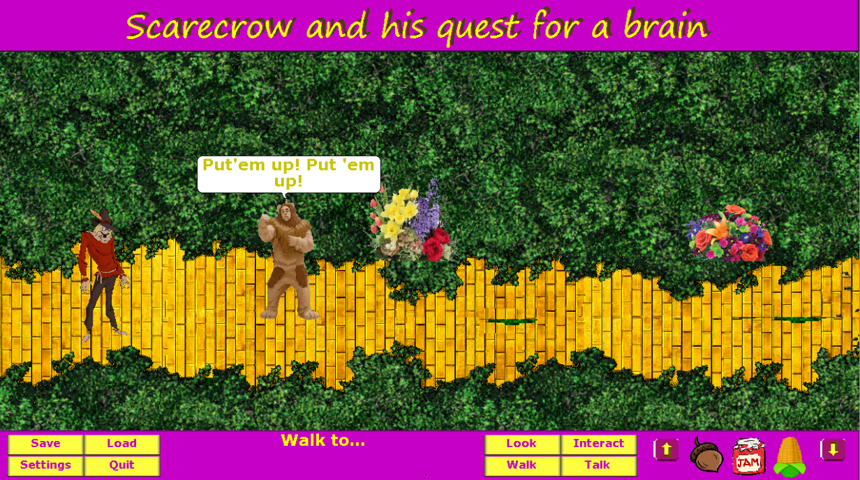 Screenshot 2 of Scarecrow and his quest for a brain