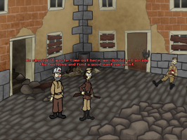 Screenshot 1 of Sniper and spotter climbing a tower