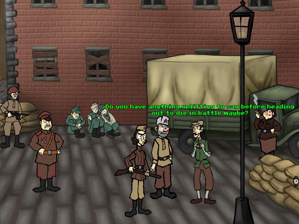 Screenshot 3 of Sniper and spotter climbing a tower