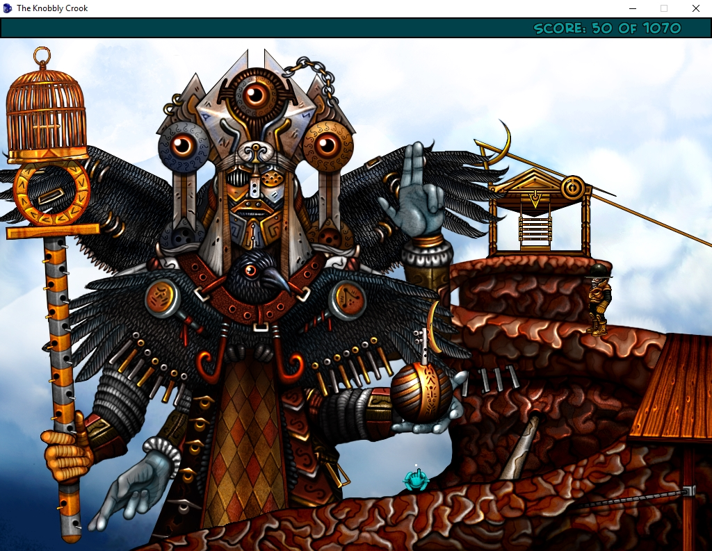 Zoomed screenshot of The Knobbly Crook