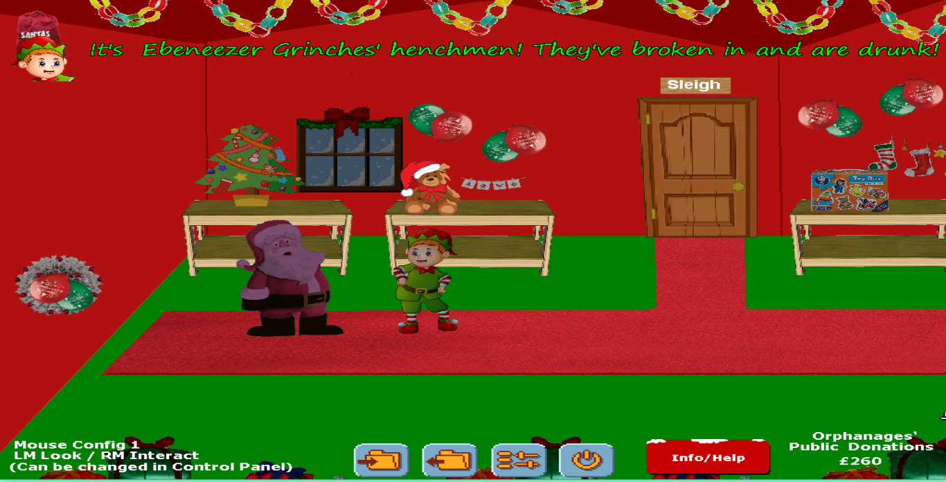 Screenshot 2 of Santa and the orphanage width=