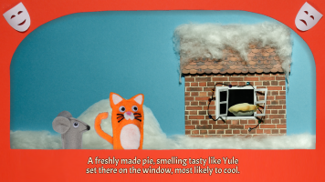 Screenshot 1 of Cornelius Cat in: How the Cat Saved Christmas