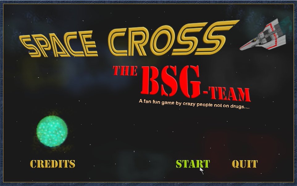 Screenshot 1 of Space Cross: The BSG-Team