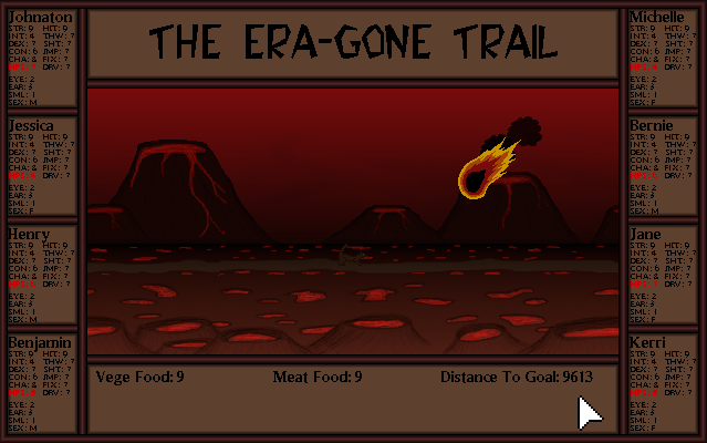 Zoomed screenshot of The Era-Gone Trail MAGS