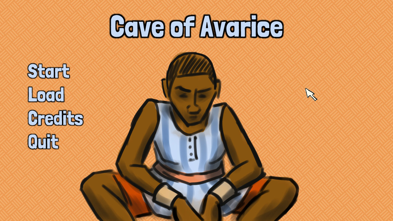 Zoomed screenshot of Cave of Avarice