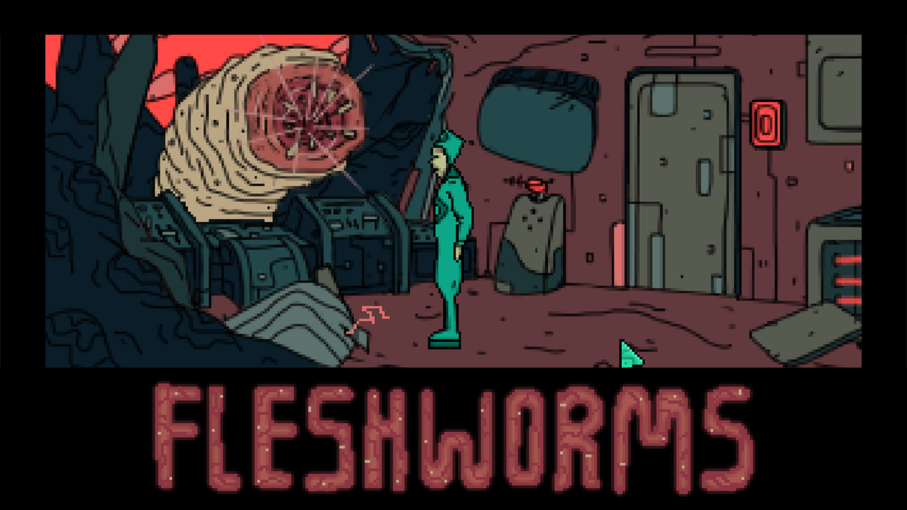 Zoomed screenshot of Tales From The Outer Zone: Fleshworms