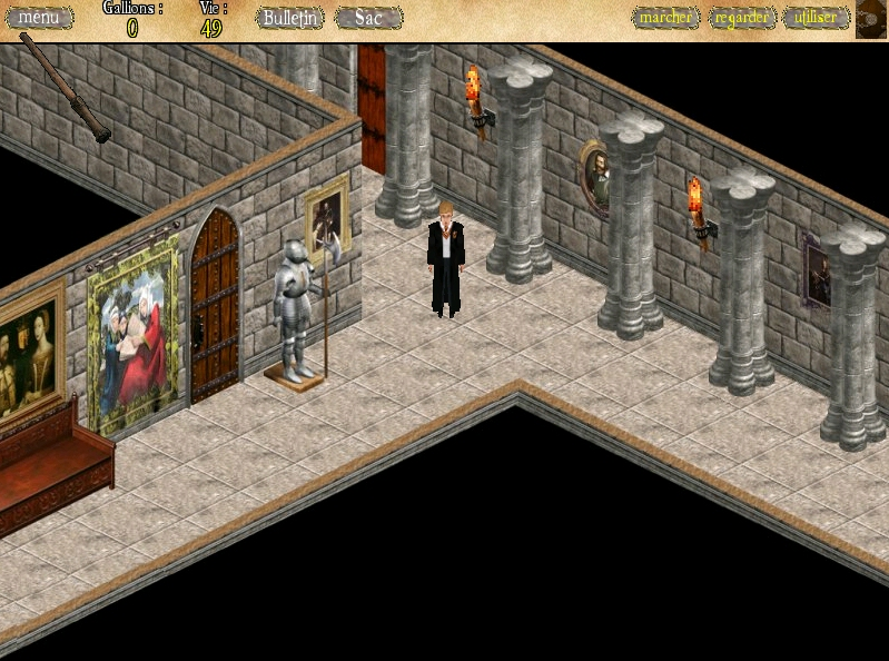 Screenshot 2 of Harry Potter RPG width=