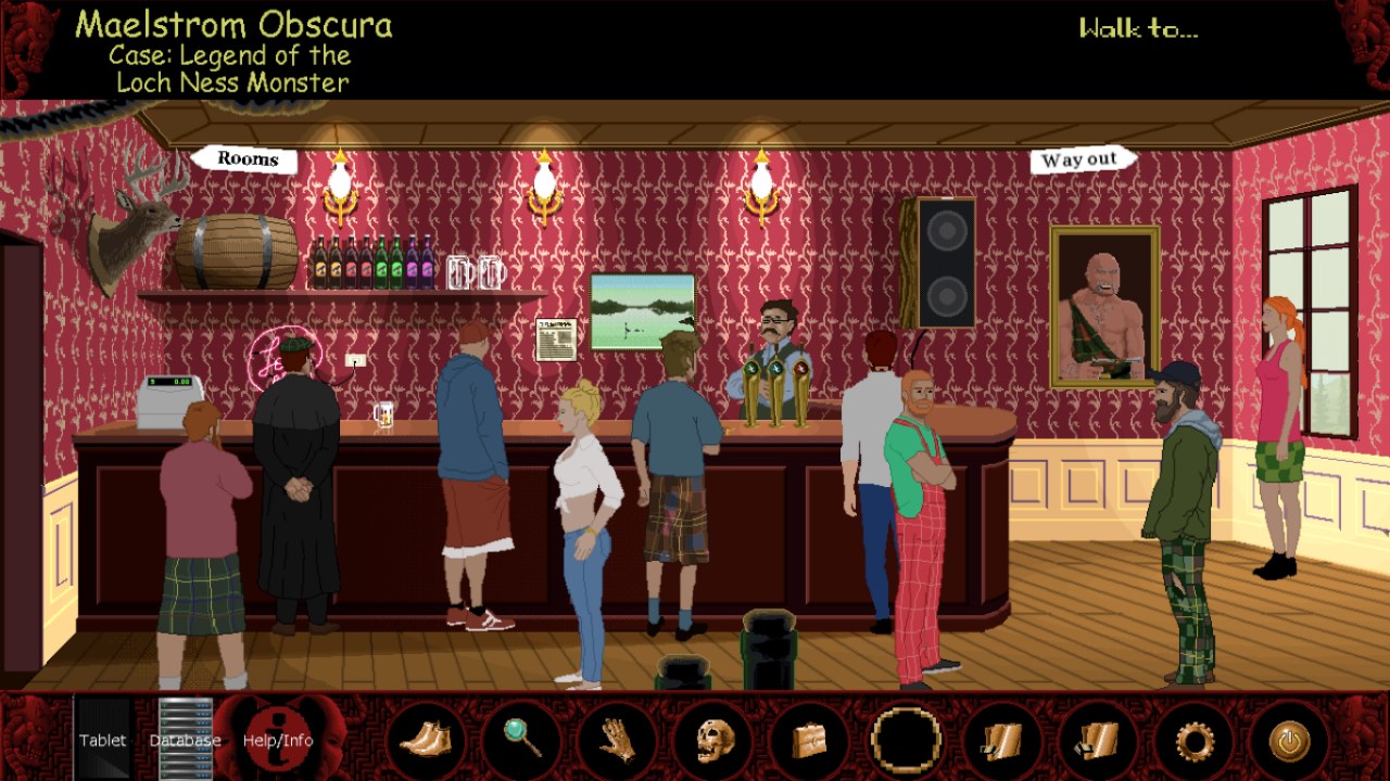 Screenshot 1 of Maelstrom Obscura:  Case 1