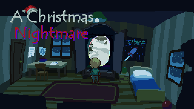 Zoomed screenshot of A Christmas Nightmare