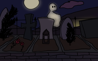 Screenshot 1 of A Christmas Ghost