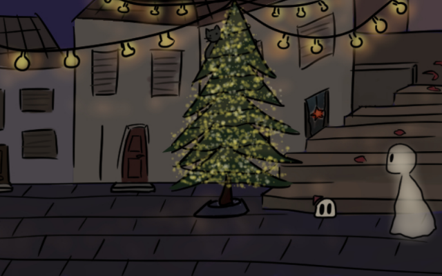 Screenshot 2 of A Christmas Ghost width=