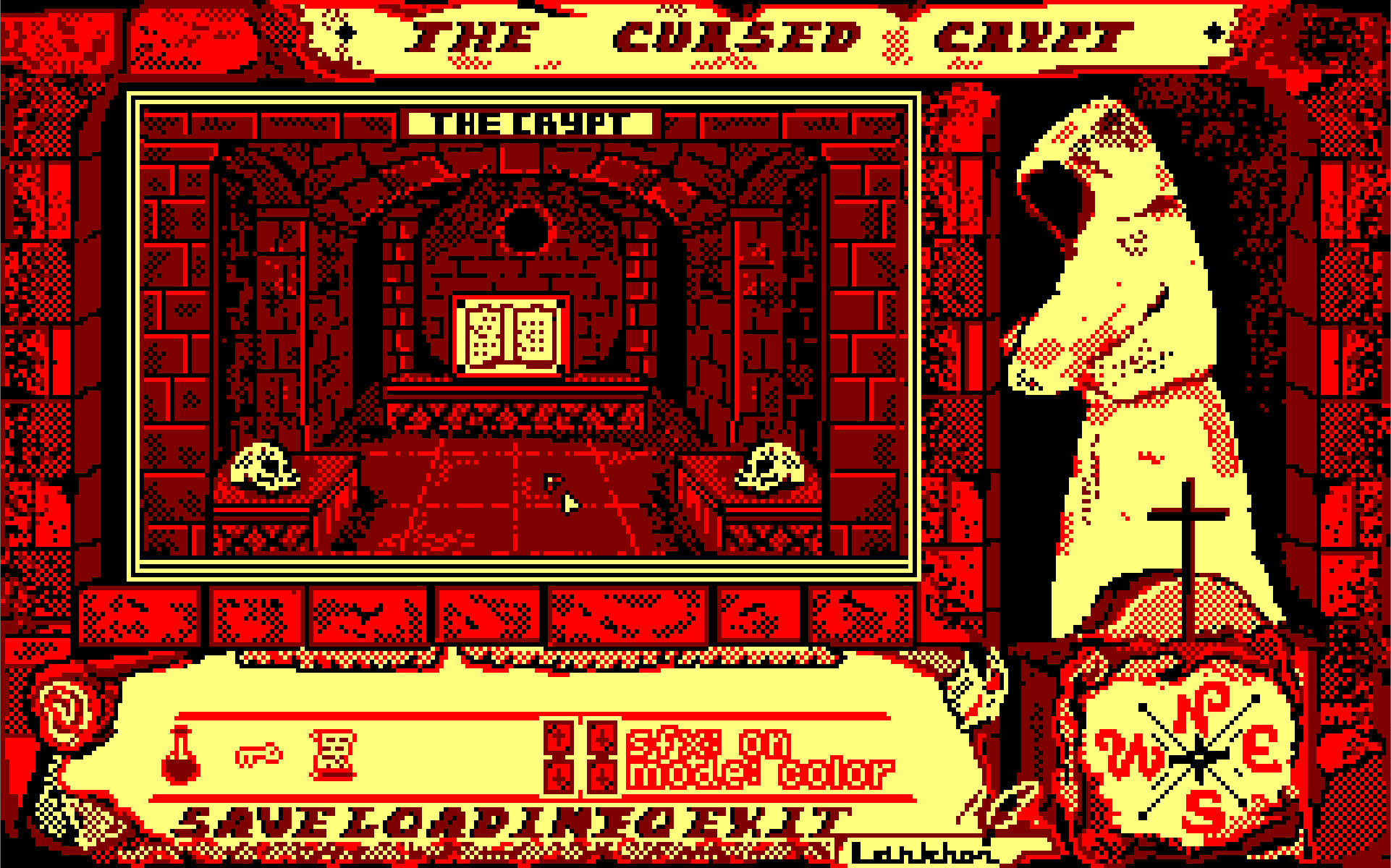 Zoomed screenshot of Black Sect 2: The Cursed Crypt (PnC Remake)