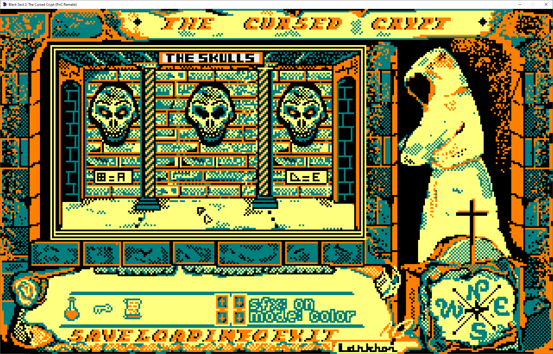 Screenshot 2 of Black Sect 2: The Cursed Crypt (PnC Remake) width=