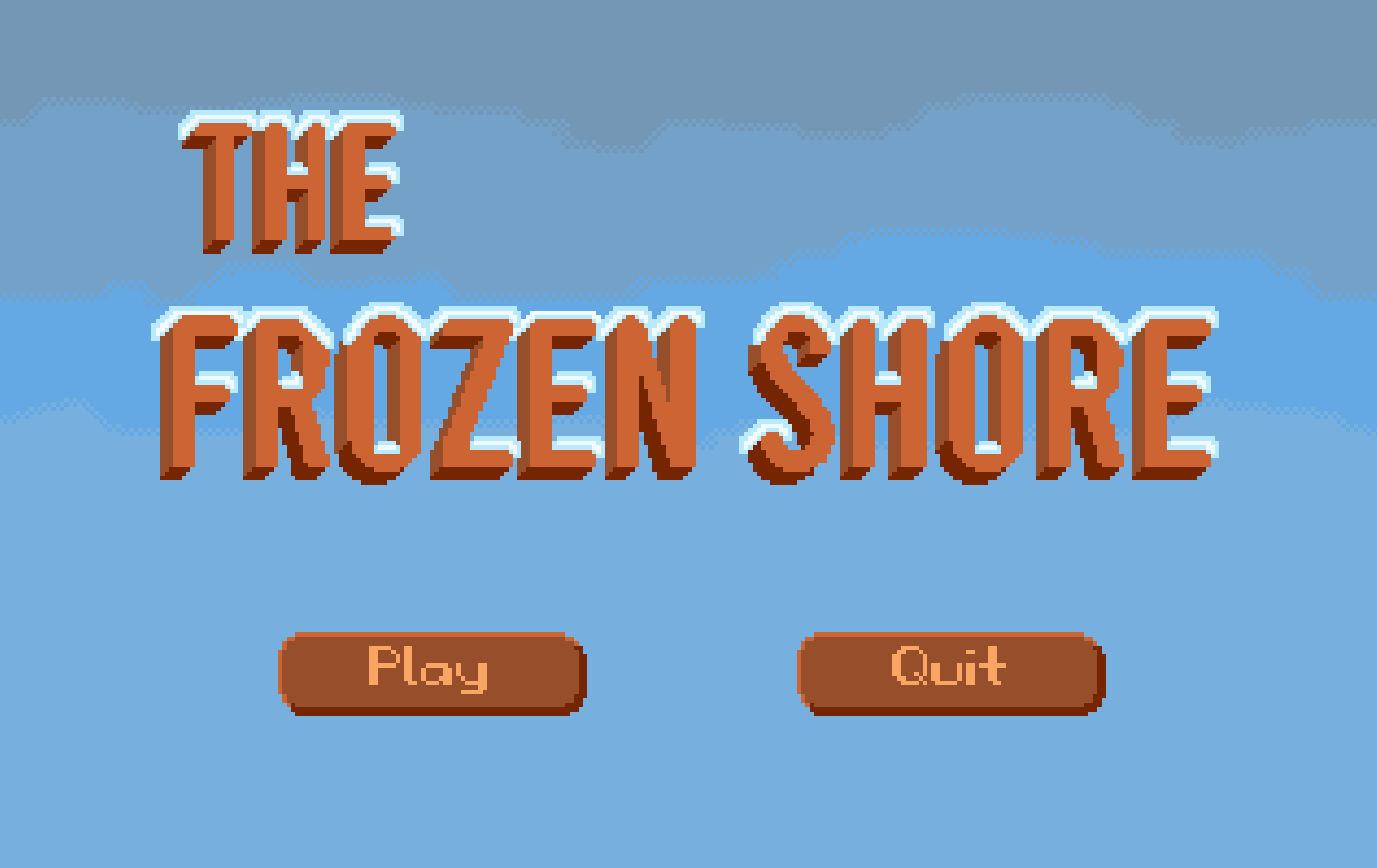 Zoomed screenshot of The Frozen Shore