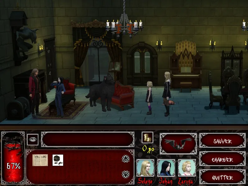 Zoomed screenshot of Nous, les Mortifer