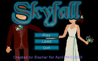 Zoomed screenshot of Skyfall