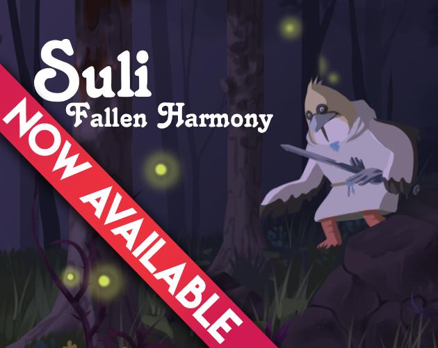 Zoomed screenshot of Suli Fallen Harmony
