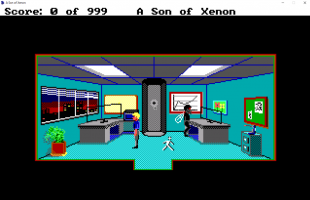 Screenshot 1 of A Son of Xenon - A Space Quest Prequel