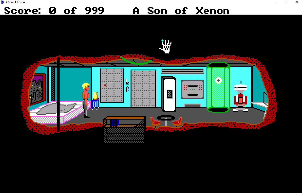 Screenshot 2 of A Son of Xenon - A Space Quest Prequel width=