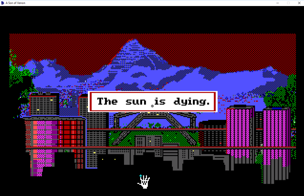 Screenshot 3 of A Son of Xenon - A Space Quest Prequel width=