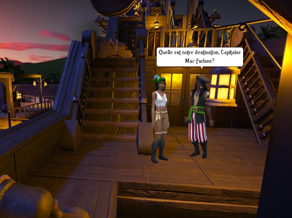 Zoomed screenshot of Dread Mac Farlane - Le Fils du Pirate