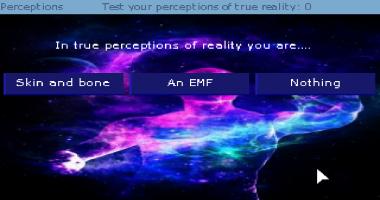 Screenshot 1 of Perceptions