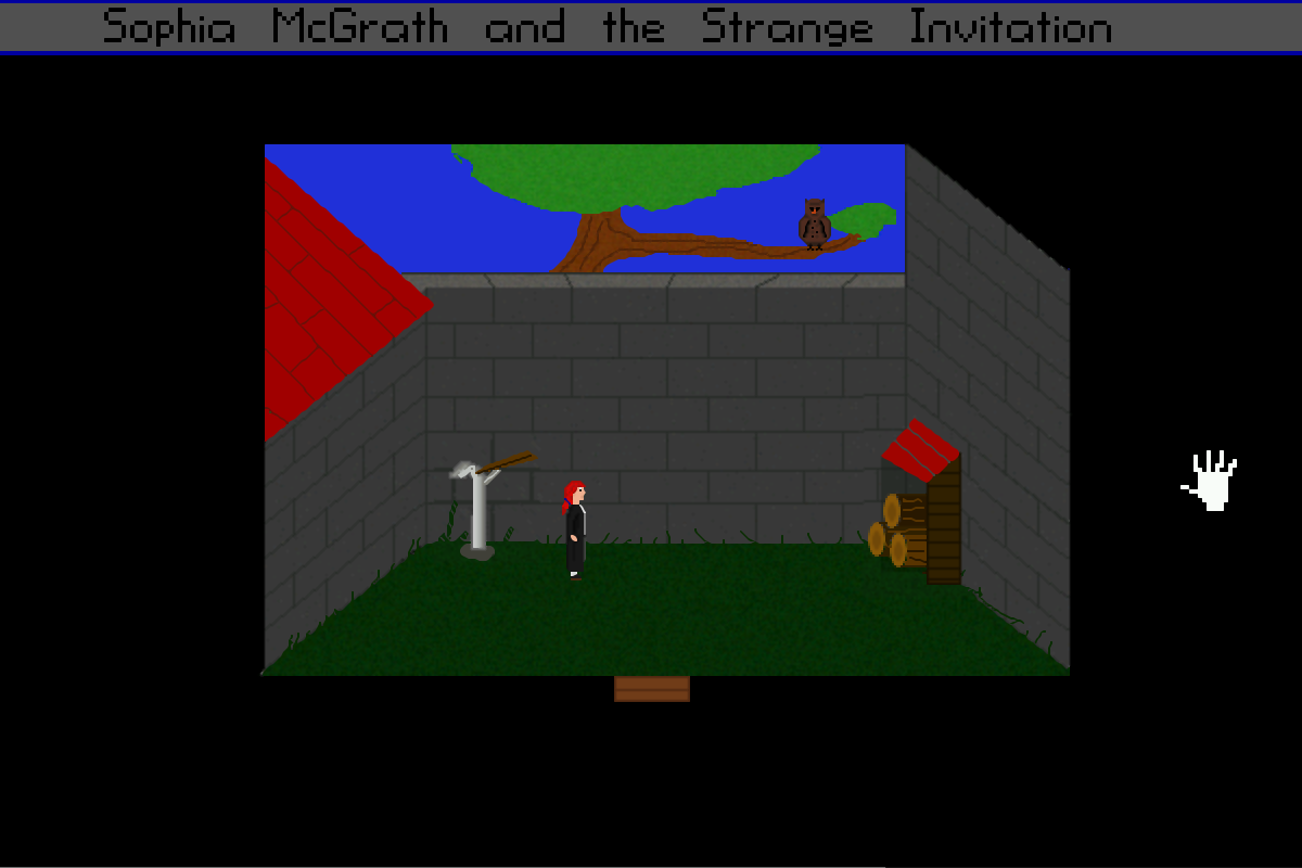 Screenshot 2 of Sophia McGrath and the Strange Invitation width=