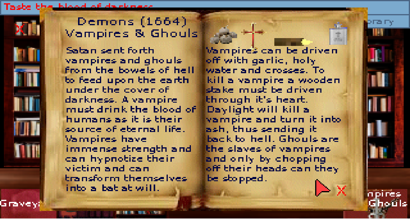 Screenshot 3 of Taste the blood of darkness width=