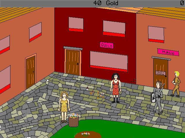 Zoomed screenshot of Adventure Quest