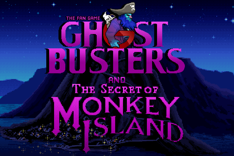 Zoomed screenshot of The Fan Game - Ghostbusters and The Secret of Monkey Island