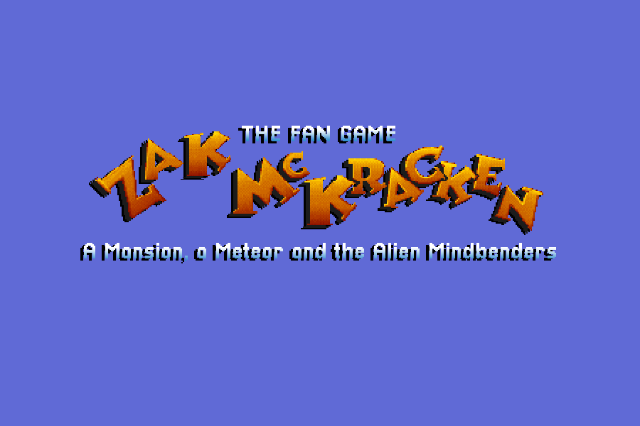 Zoomed screenshot of The Fan Game - Zak McKracken : A Mansion, a Meteor and the Alien Mindbenders
