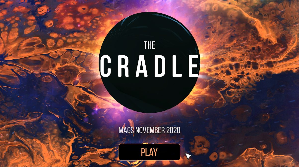 Zoomed screenshot of The Cradle