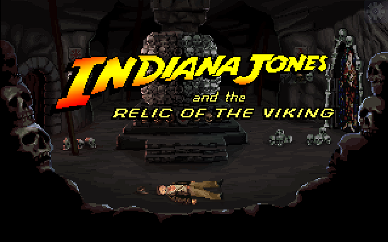 Zoomed screenshot of Indiana Jones and the relic of the Viking