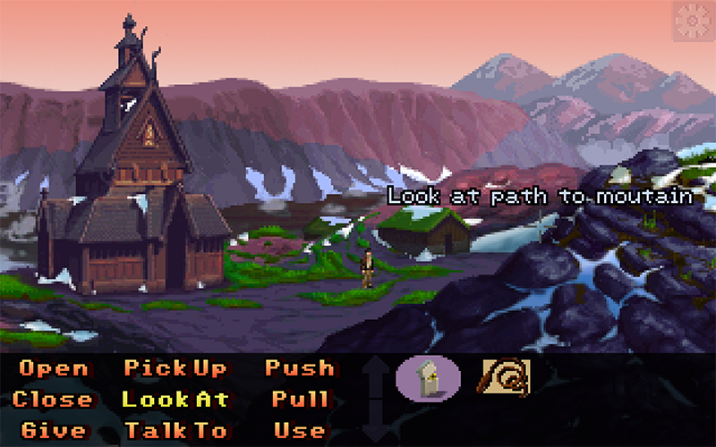 Screenshot 3 of Indiana Jones and the relic of the Viking width=