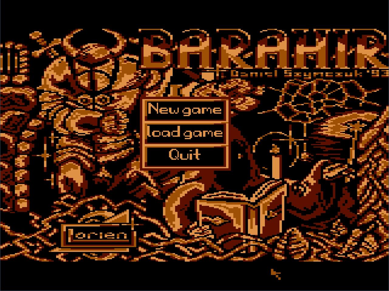 Zoomed screenshot of Barahir's Adventure: Askar's Castle