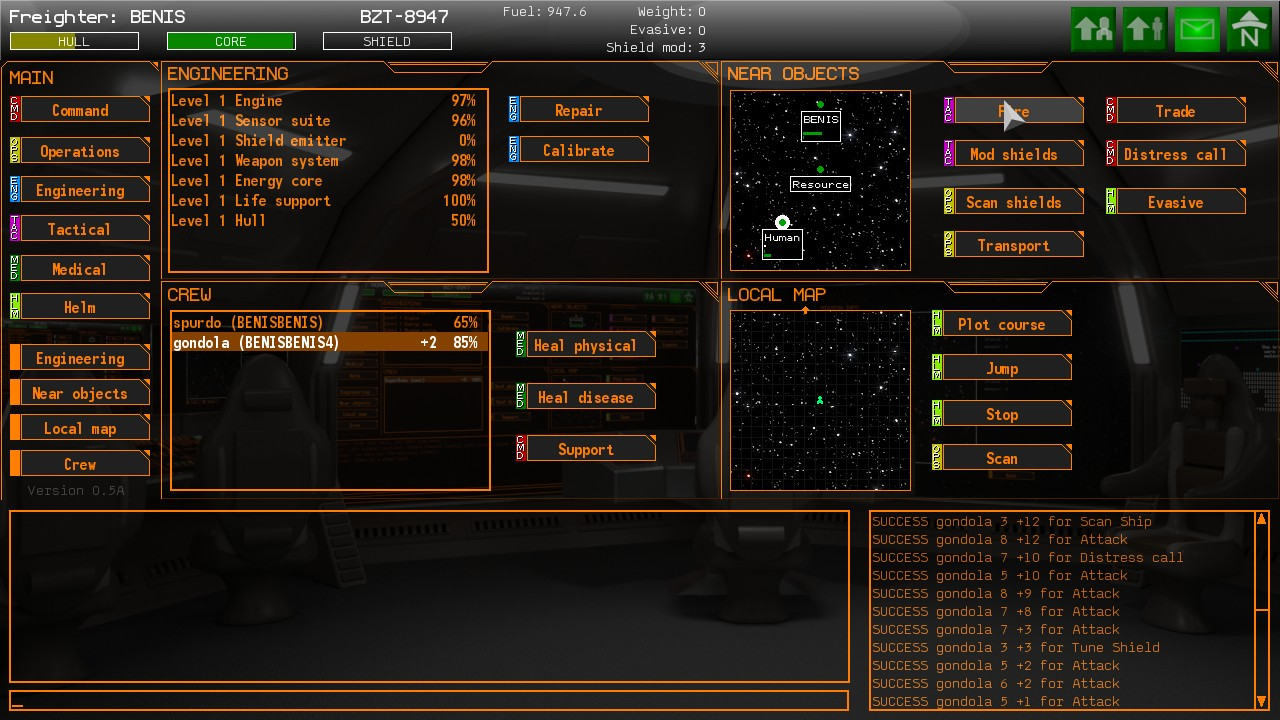 Screenshot 1 of Starship Light [BETA]