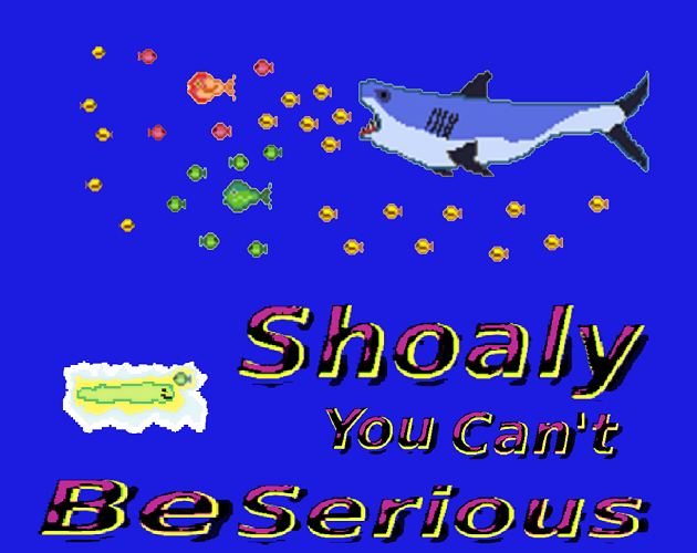 Zoomed screenshot of Shoaly You Can't Be Serious! (MAGS version)